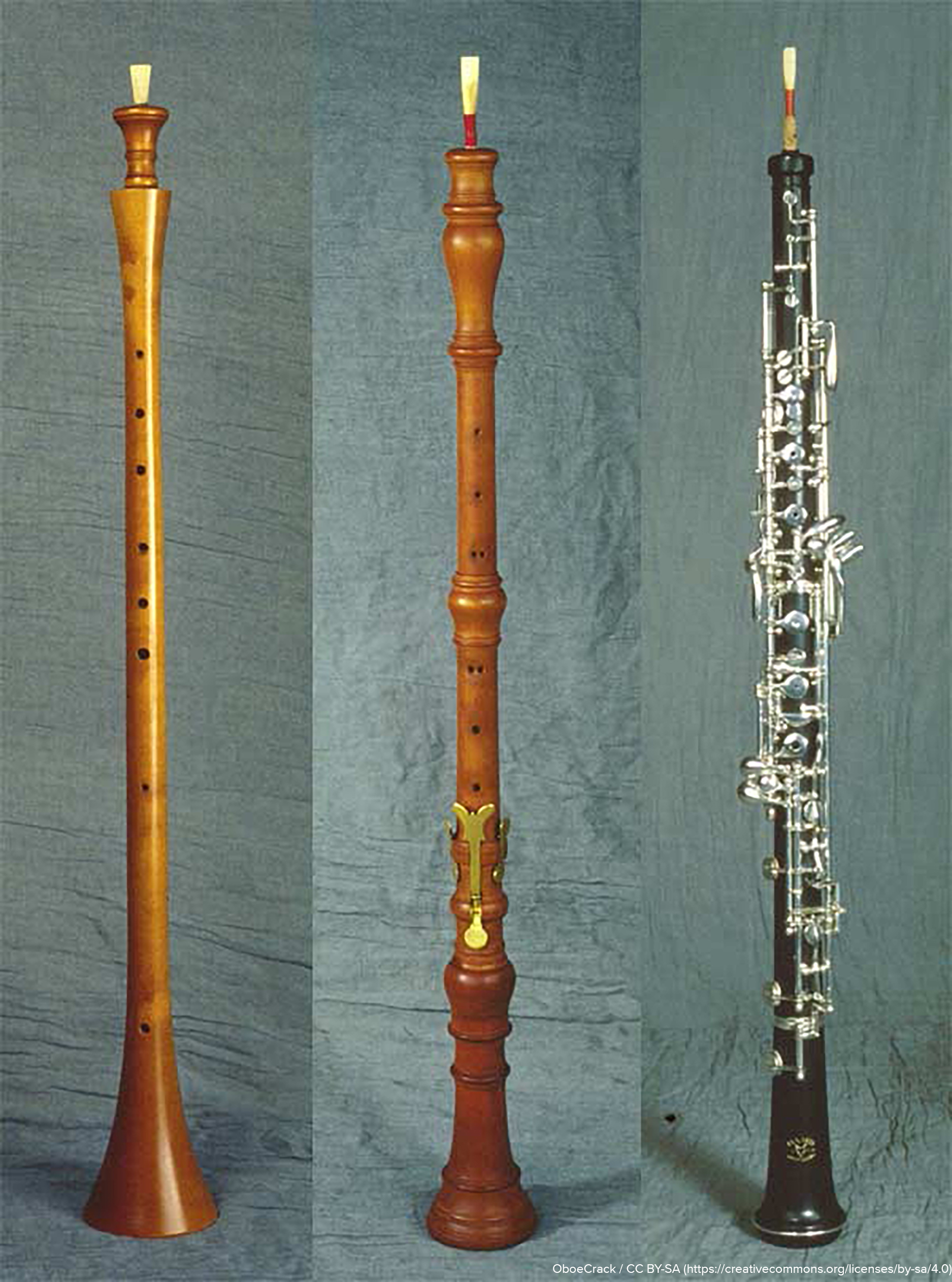 the development of the oboe