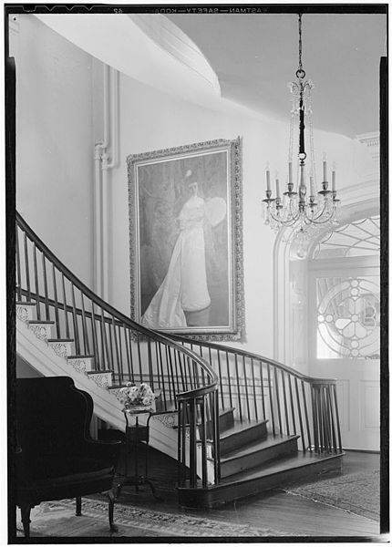 Nathaniel Russel House stairs