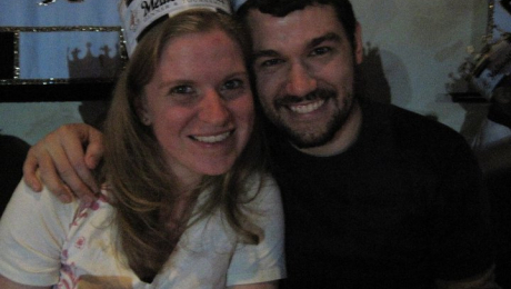 Janelle and Dustin at Medieval Times