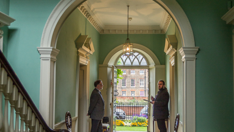The Peckover House hallway photo by Christine Matthews