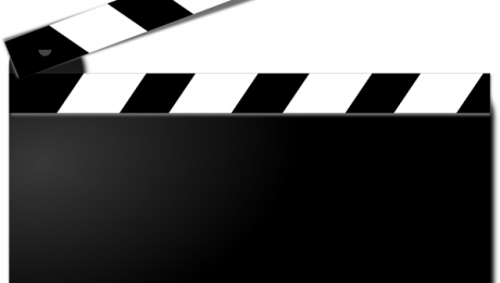 image of a movie clapperboard